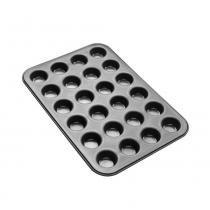 Forma para muffins zenker antiaderente 24 bolinhos -