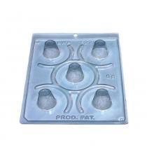 Forma PVC Silicone Copinho Licor Ref.1273 - BWB -