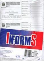 Formulario Cont Darf 250jg 2 Vias 175 Informs S/L - 953464