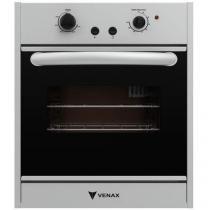 Forno a Gás de Embutir Venax Nero 50L - com Grill Elétrico Autolimpante e Isolamento Total