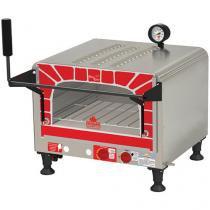 Forno a Gás Industrial Progás Mini Chef PRP 400 - 40L Inox Grill