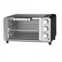 Forno elétrico 10 litros em aço escovado cuisinart -127v tob 80br - Cuisinart