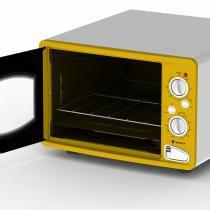 Forno elétrico classic vintage amarelo - 127v - Amarelo - Venax