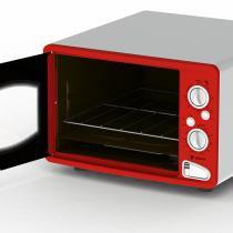 Forno elétrico classic vintage vermelho - 220v - Vermelho - Venax