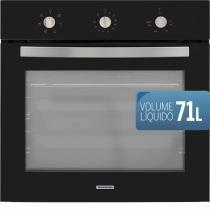 Forno elétrico de embutir tramontina new glass cook b 60 f5+ 220v - Tramontina