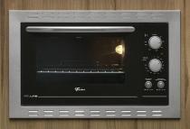 Forno Elétrico Embutir Fischer Fit Line Inox 44l 220v -