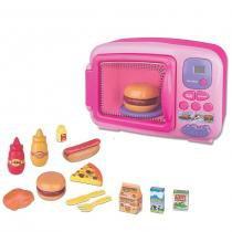 Forno Microondas Infantil da Princesa 7105 com acessórios - Braskit - Braskit