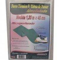 Forro térmico para tábua de passar microperfurado silvers - 45 cm / 1,20 m - Silvers