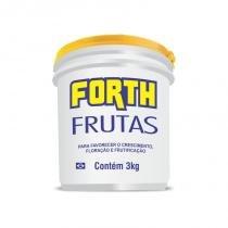 Forth Frutas Fertilizante - NPK 12-05-15 + 9 Nutrientes - 3 kg - Forth jardim