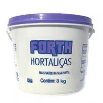 Forth Hortaliças Fertilizante - NPK 15-05-10 + 9 Nutrientes - 3 kg - Forth jardim
