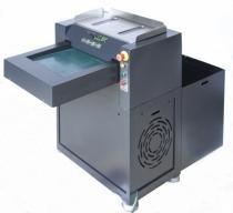 Fragmentadora de papel Cortadeira Menno Destroyer 400 50T 220V Uso Contínuo, velocidade 45 m/min, 50 folhas em Tiras de 10mm, cesto 190L N1 -