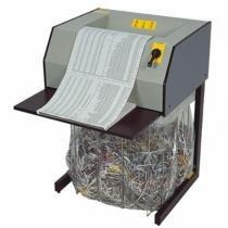 Fragmentadora Menno X27 110V- Corta 15 folhas em Tiras de 4mm, fenda 330mm, Nível de Segurança 02, Uso Contínuo -