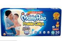 Fralda-calça mamypoko 4 pct g c/36 mega cxf -