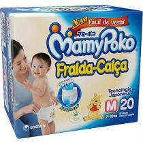Fralda Calça MamyPoko Regular Tam M - 20 Unidades