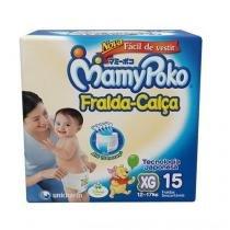 Fralda-Calça MamyPoko XG 15 Unidades 12 a 17Kg - Mamy poko