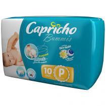 Fralda Capricho Bummis Tam P 10 Unidades - Tecnologia Respirável