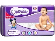 Fralda Cremer Disney Baby Tam. Grandinho - 15 a 24kg 14 Unidades