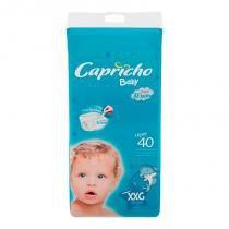 Fralda Descartável Infantil Capricho Baby XXG C/40 -