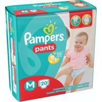 Fralda Descartável Pampers Pants Mega M 20 Unidades - PAMPERS