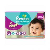 Fralda Descartável Pampers Premium Care G 40 Unidades -