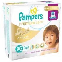Fralda Descartável Pampers Premium Care XG 32 Unidades -