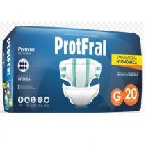 Fralda geri. protfral premium g 5 pct. c/20 cxf -