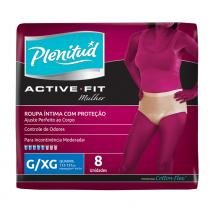 Fralda geriátrica plenitud active feminino tamanho g/xg 8 tiras - Plenitude