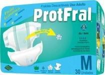 Fralda geriatrica protfral m c/30 -