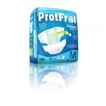 Fralda geriatrica protfral premium m c/10 -