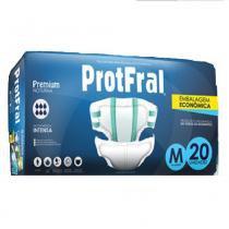 Fralda geriatrica protfral premium m c/20 -