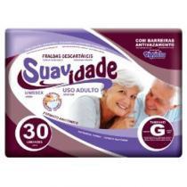 Fralda geriatrica suavidade g c/30 -