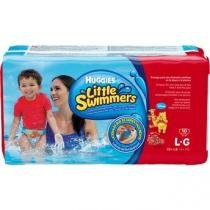 Fralda huggies little swimmers g c/10 -