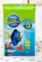 Fralda huggies little swimmers p c/12 -