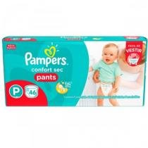 Fralda Pampers Confort Sec Pants P - 46 unidades -