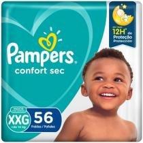Fralda Pampers Confort Sec Tam. XXG - 56 Unidades
