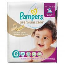 Fralda pampers premium care g c/40 -