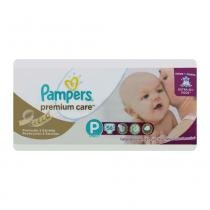 Fralda pampers premium care mega p com 56 tiras - Pampers