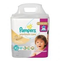 Fralda Pampers Premium Care Nova Tamanho XG 60 Tiras -