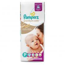 Fralda pampers premium care p c/56 -