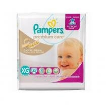 Fralda pampers premium care xg c/32 mega - Pampers