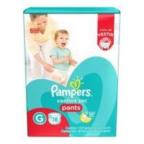 Fralda Pmpers Confort Sec Pants Jumbo 18un - Pampers