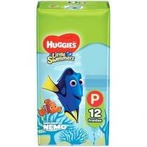 Fraldas Calça Huggies Little Swimmers Tam. P - 12 Unidades A Prova de Água