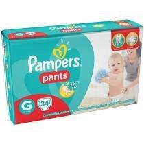 Fraldas Calça Pampers Pants Tam G - 34 Unidades