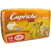 Fraldas Capricho Disney O Rei Leão Tam XXG - 14 Unidades