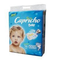 Fraldas Descartáveis Capricho Baby Super Jumbo XXG - 56 Unidades -