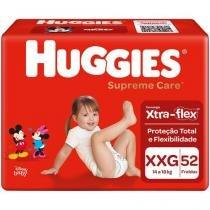 Fraldas Huggies Supreme Care Tam XXG 14 a 18kg - 52 Unidades