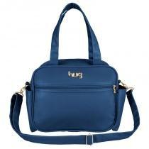 Frasqueira Maternidade Bem Querer Azul Marinho - Hug - Hug bolsas