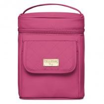 Frasqueira Térmica Fit 2 Vasilhas Pink - Classic for Bags - Classic for baby bags
