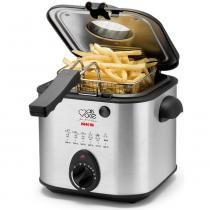 Fritadeira a óleo nks mais você 1,2 litros inox df295 - Nks ( portateis )