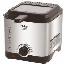 Fritadeira com Óleo Philco Deep Fry Inox 110V - Philco